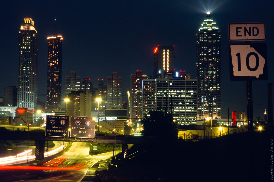 Atlanta Skyline Downtown