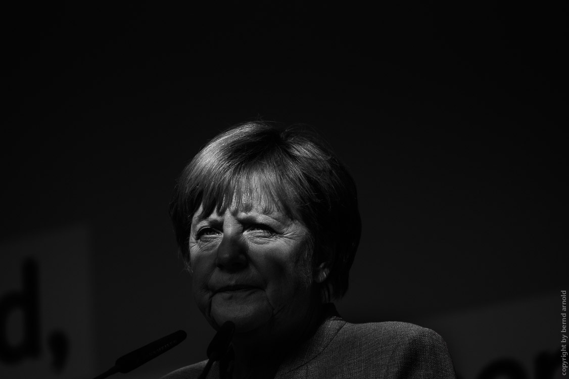 Photograph and portraiture of German chancellor Angela Merkel