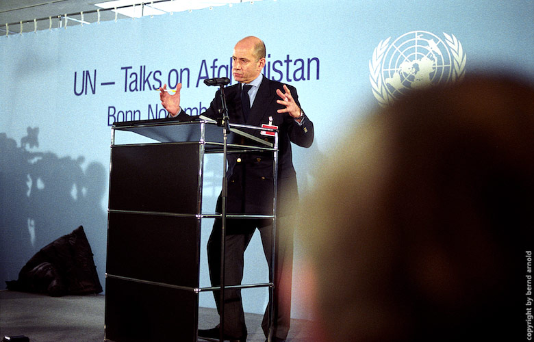 UN Talks Ahmad Fawzi