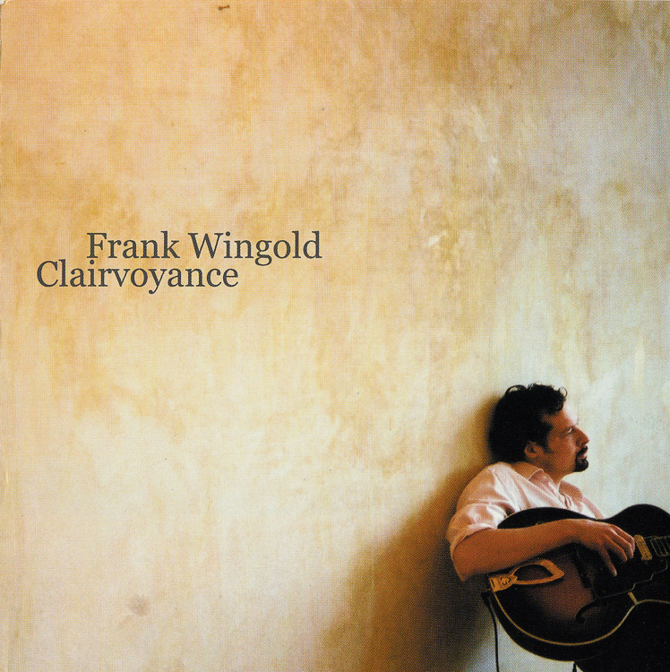 Frank Wingold Jazz Gitarre CD Cover