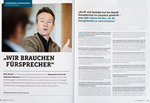 Nick Nuttall in prmagazin