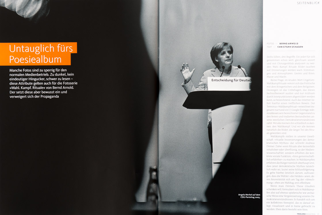 Freelens Magazin Angela Merkel